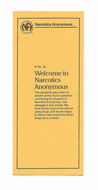 IP 22 Welcome to Narcotis Anonymous
