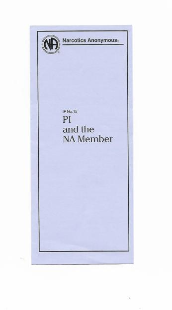 IP 15 Public Informaion and the NA Member