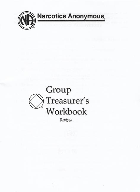 Treasurer Workbook